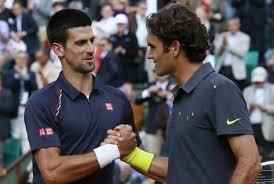 Djokovic Federer tennis